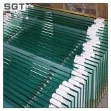 Melhor preço de vidro temperado e painel para uso de construção diferente