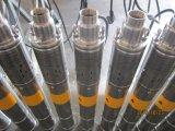 Bomba de água centrífuga de alta pressão do motor elétrico submergível da fase monofásica da série de Qgd do chimpanzé