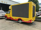 LEIDENE van Jiatu van Foton 4X2 P8 Vrachtwagen, de LEIDENE Vrachtwagen van de Reclame, Kleine Mobiele Vrachtwagen