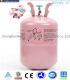 Горячее сбывание разливает бутылку по бутылкам газообразного гелия хорошего бензобака устранимую для воздушного шара