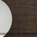Isolation thermique ignifuge tissée enduite par PE de meubles extérieurs de Furnture de jardin de meubles de maison de meubles d'hôtel de Tablemat de couvre-tapis de Tableau de caboteur de cuvette de Placemat