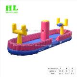 Terrain de basket gonflable dirigé par Bungee de matériel de cour de jeu