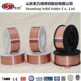 Kupfernes überzogenes Schweißens-Material des CO2 Draht-Er70s-6