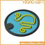 Sottobicchiere su ordinazione della tazza del silicone di marchio per Itmes promozionale (YB-n-009)