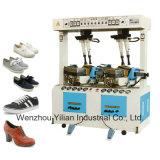 Máquina de calçado de desporto manual hidráulico único de carregar a máquina