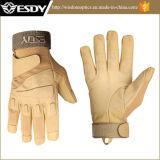 Esdy戦術的で完全な指の屋外スポーツのオートバイの安全手袋