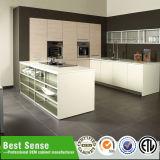 Armário de embalagem plana personalizada elegante Armários de cozinha