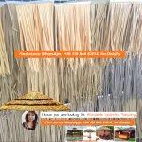 De vuurvaste Synthetische Palm met stro bedekt Viro met stro bedekt om Riet Afrikaan met stro bedekt Hut de Aangepaste Vierkante Afrikaanse Hut Afrika 002 met stro bedekt