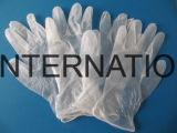 High-end одноразовые перчатки порошок свободного виниловых перчаток для пищевой промышленности