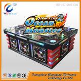 Машина игры рыб аркады рыболовства Wangdong заразительная с акцептором Bill