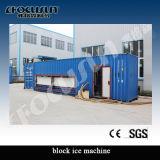 máquina de hielo de bloque del envase 18tons