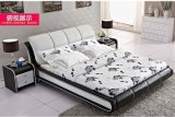 現代柔らかいベッドの寝室の家具