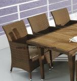 Insieme pranzante impermeabile esterno stabilito dell'hotel della mobilia della presidenza della Tabella superiore del &Teak (YTA100&YTD368)