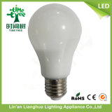 7W 9W 12W 6500k calientan la luz de bulbo blanca del LED, bulbo del LED