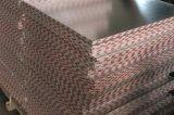 Kurbelgehäuse-Belüftung lamellierte Gips-Decken-Fliese mit Aluminiumfolie-Rückseite