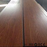 Vinyle en bois commercial de PVC parquetant l'étage arrière sec de vinyle