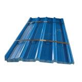 Pré-peint de couleur de tôle ondulée recouvert de tôle de toit de tuile de toit