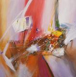 زاهية تجريديّ [أيل بينتينغ كنفس] جدار فنية لأنّ زخرفة بينيّة
