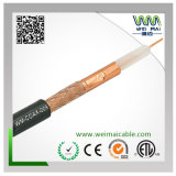 20AWG Bc 95% Braiding Rg59 Coaxial Cable