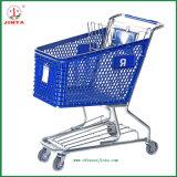 Het Winkelen van de Supermarkt van de fabriek Direct In het groot Karretje (jt-E01)
