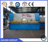 Do feixe hidráulico do balanço do CNC QC12k-4X4000 máquina de corte
