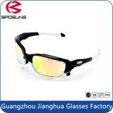 Les lunettes de soleil de mode refroidissent le sport unisexe faisant un cycle des lunettes de soleil de loisirs en verre de Sun