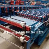 Os fornecedores do ferro do metal da telhadura da camada dobro cobrem máquinas