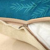 Ropa de algodón Popular Imprimir Funda de cojín lanzar Funda de almohada sin relleno Sqaure 18 pulgadas de 45cm.