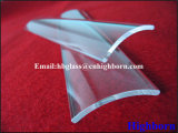 Lamelle de verre claire polonaise de quartz protégé par fusible d'arc d'incendie