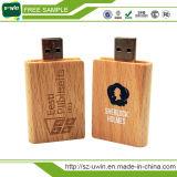 OEM 4GBの木の本USBのフラッシュディスク