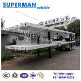 Twee-as Flatbed Hete Verkoop van de Aanhangwagen van de Vrachtwagen van de Container Semi