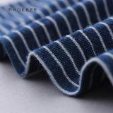 100% coton fille jupe bleu
