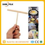 中国の専門のクレープメーカーのパンケーキねり粉の木の拡散機の棒のホーム台所ツールDIYのレストランの酒保の特に供給