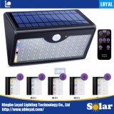 PIR太陽LEDの屋外の動力を与えられた緊急の動きセンサーの機密保護の庭の洪水の壁ライト