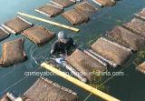 網サイズ9*9mmの水産養殖のネットのカキのケージ袋