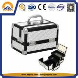 Коробка Shining красотки косметическая с подносами и зеркалом (HB-2034)