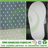 Antiderrapante revestido de Spunbonded do PONTO do PVC tecido não