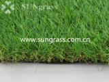 gazon de synthétique de 40mm pour le jardin ou l'horizontal (SUNQ-HY00029)