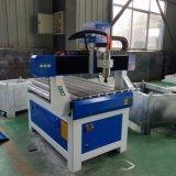Máquina de trituração do router do CNC Engarving de 3 linhas centrais mini para a madeira