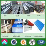 Mostra corridoio prefabbricata della struttura d'acciaio del negozio 4s