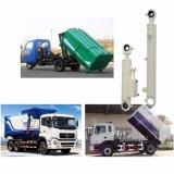 Hochleistungs--doppelter verantwortlicher Abfall-LKW, der Hydrozylinder mit Kolben anhebt