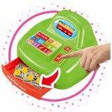 Plastikminisupermarkt-Spiel-Spielzeug mit Schreibtisch