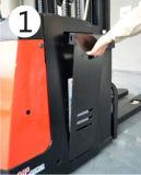 최신 판매 전기 쌓아올리는 기계 (ES16-16RA) 높은 쪽으로 1.6 톤 가득 차있는 입상