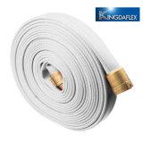 Mangueira de Incêndio de lona de PVC flexível, tecido de mangueiras de incêndio com bom preço