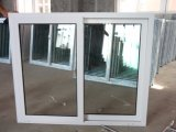 Double Glass를 가진 Doule Panes White Color UPVC Sliding Window