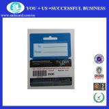 Cartão de PVC combinado (cr80 + keytag) para promoção de negócios
