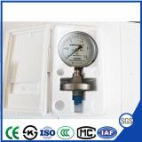 Joint de diaphragme en acier inoxydable avec jauge de pression à la corrosion
