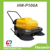 P100A barredora manual en la acera Robot Jardín Sweeper