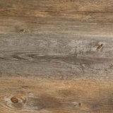 PVC Grain du bois de luxe à sec des tuiles de plancher arrière