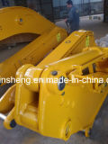 掘削機の構築機械装置の幼虫のためのバケツが付いている標準長い範囲ブーム及びアーム
